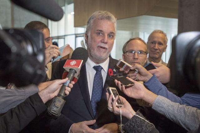 Le premier ministre du Québec, Philippe Couillard.... (Ryan Remiorz, la presse canadienne)