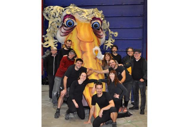 L'équipe du Théâtre de la Dame de coeur... (fournie)