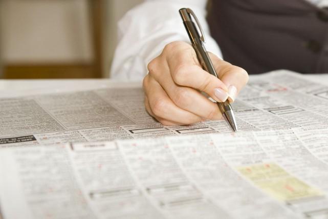 Le taux de chômage a reculé de 0,2 point de pourcentage en octobre au... (Photo 123RF)