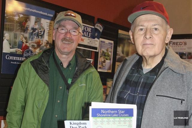 Tous deux à la retraite, Ted Vonschoppe et... (La Tribune, Jean-François Gagnon)