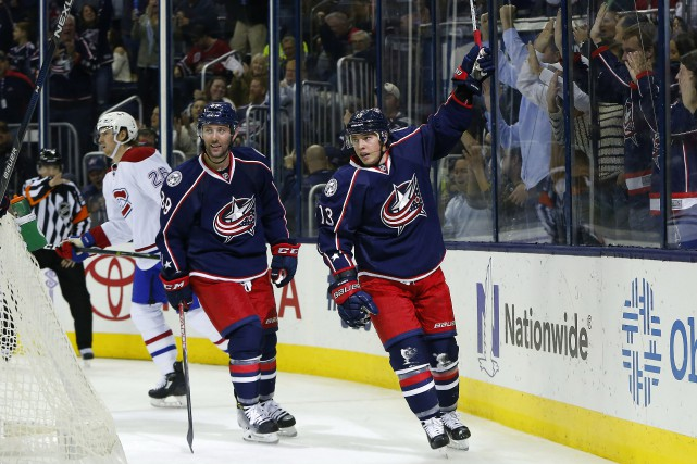 Les Blue Jackets sont sans pitié pour les... (Photo USA Today Sports)