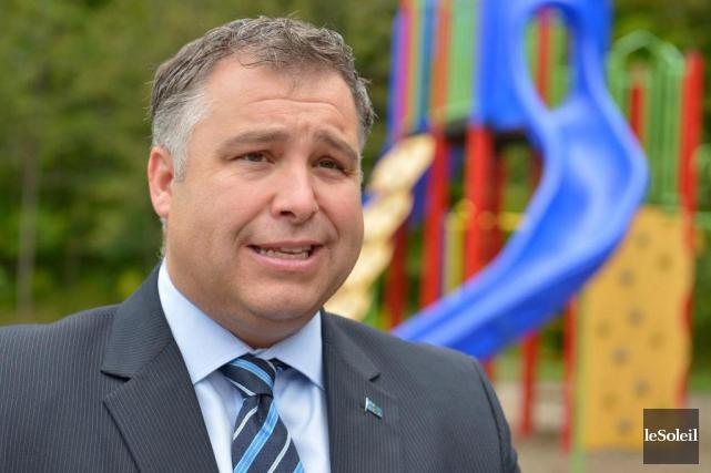 Sébastien Proulx,ministre de l'Éducation... (Photo Yan Doublet, archives Le Soleil)