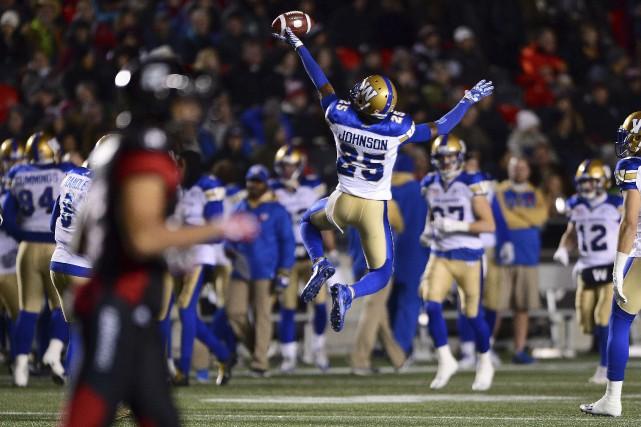 Ayant perdu face aux Blue Bombers de Winnipeg,... (Sean Kilpatrick, La Presse canadienne)