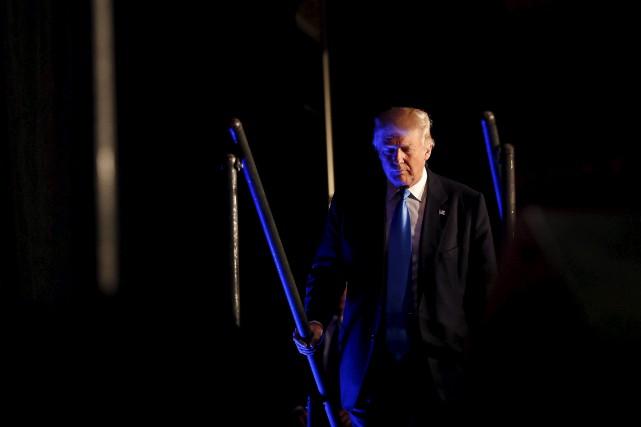 Donald Trump assurait à ses étudiants qu'il avait... (Gerald Herbert, AP)