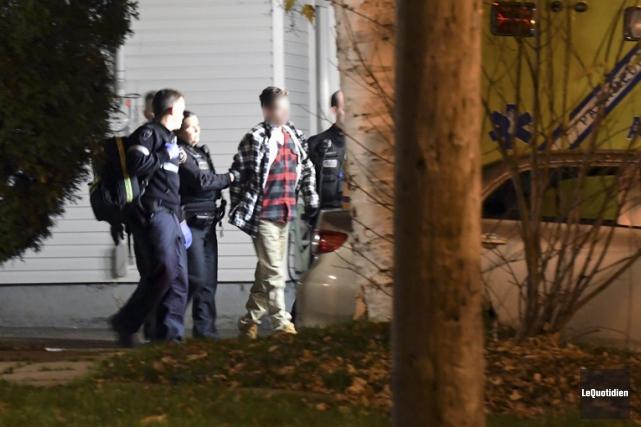 Un mandat d'arrestation avait été lancé contre l'homme.... (Photo Le Quotidien, Rocket Lavoie)