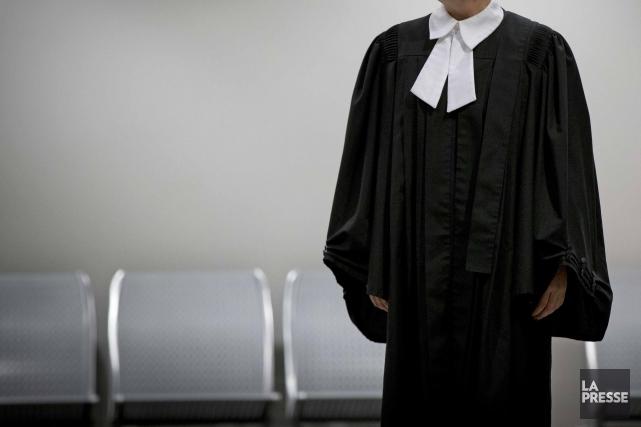 Deux avocats en sont carrément venus aux poings, hier matin, devant une salle... (PHOTO OLIVIER JEAN, ARCHIVES LA PRESSE)
