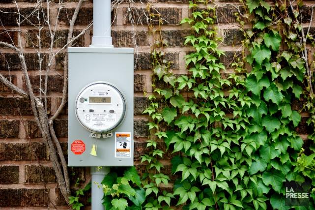 Je possède encore un compteur électromécanique que je... (PHOTO SARAH MONGEAU-BIRKETT, ARCHIVES LA PRESSE)