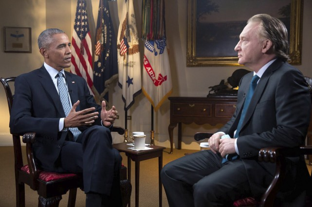 L'entretien avec le président Barack Obama a été... (AP, Amanda Lucidon)