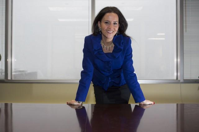 La présidente de La gouvernance au féminin, Caroline... (PHOTO OLIVIER PONTBRIAND LA PRESSE)