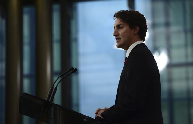 Le document «Pour un gouvernement ouvert et responsable»... (La Presse Canadienne)