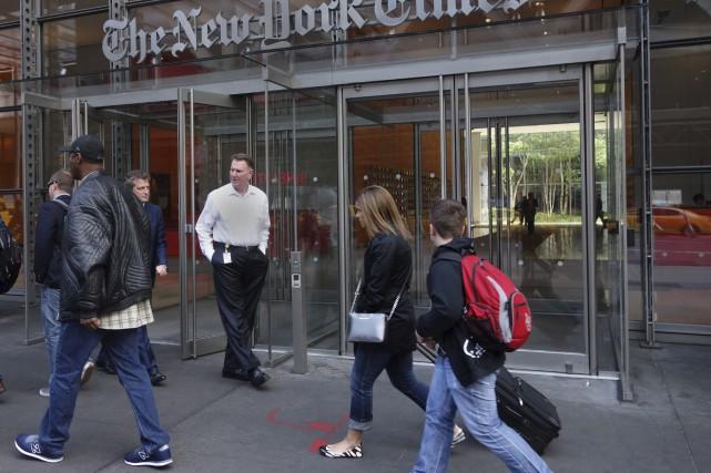 Des médias prestigieux comme le New York Times,... (Photothèque Le Soleil)