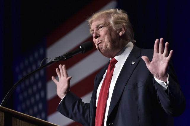 Le candidat républicain à la présidence des États-Unis,... (AFP)