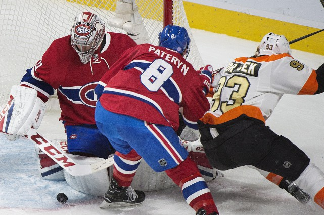 Carey Price a bloqué 34 des 38 tirs... (La Presse canadienne, Graham Hughes)