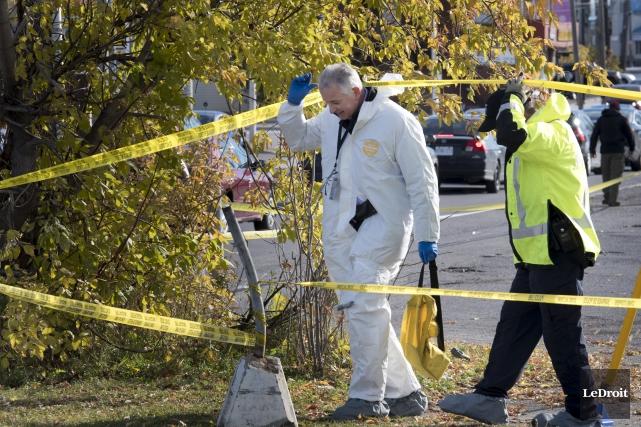 La police d'Ottawa enquêtait, dimanche, sur le 17e... (Martin Roy, LeDroit)
