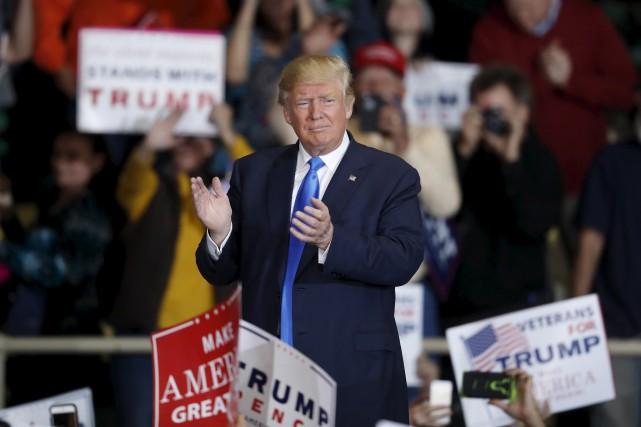 Un président Trump rencontrerait vraisemblablement beaucoup moins d'embuches... (AP)