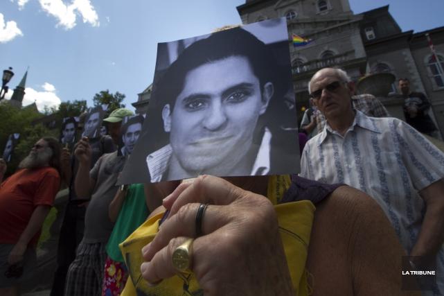 La semaine dernière, le Canada a officiellement demandé la libération de Raïf... (Archives La Tribune, René Marquis)