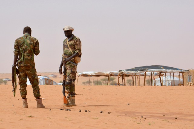 Malgré l'intervention militaire internationale en cours depuis 2013,... (ARCHIVES AFP)