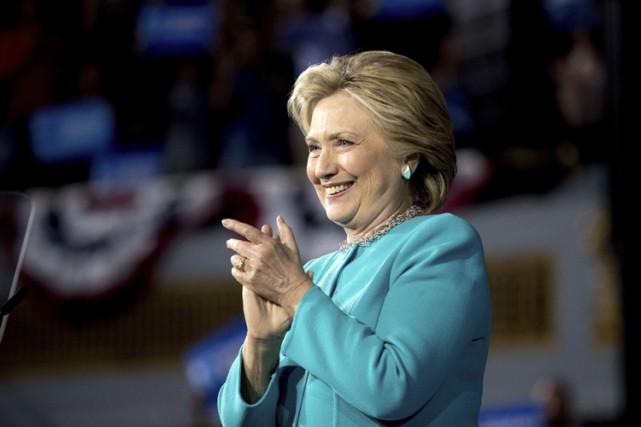 Dimanche, Hillary Clinton a visité Cleveland, métropole de... (PHOTO AP)