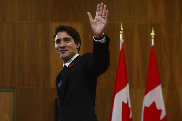 Le premier ministre du Canada, Justin Trudeau... (La Presse canadienne)