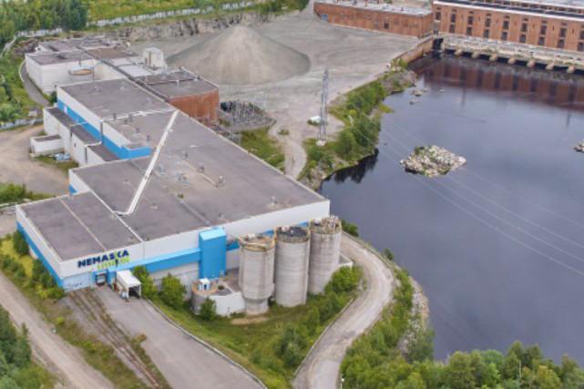 L'usine hydrométallurgique de Nemaska Lithium à Shawinigan.... (Nemaska Lithium)