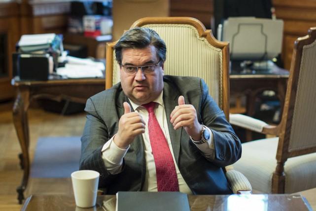 Le maire de Montréal Denis Coderre a soutenu... (La Presse)