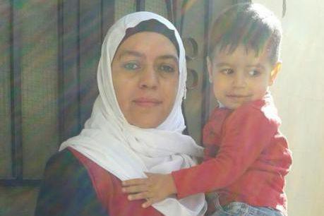 Wejdan Jamous et son fils Hamzah.... (PHOTO FOURNIE PAR LA FAMILLE)