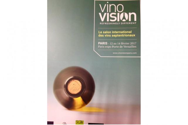 L'affiche du salon VinoVision qui se tiendra du... (PHOTO TIRÉE DE FACEBOOK)