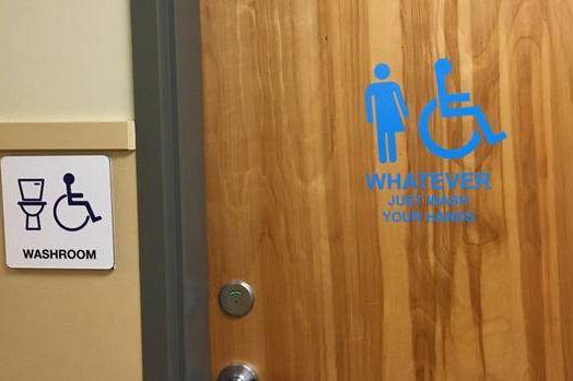 «Peu importe, lavez-vous les mains», peut-on lire sous... (PHOTO TIRÉE DU SITE DU GLOBE AND MAIL)