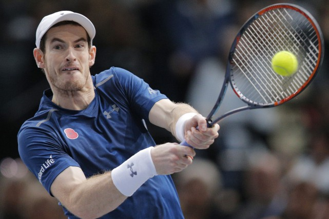 Le numéro 1 mondial Andy Murray.... (Photo Michel Euler, AP)