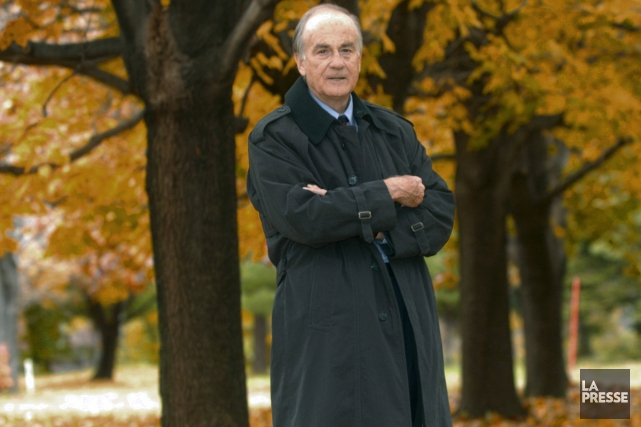 Jacques Grand'Maison en 2004.... (Photo Rémi Lemée, archives La Presse)