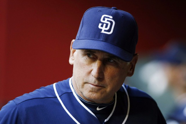 Bud Black était le gérant des Padres de... (Photo Ross D. Franklin, archives AP)