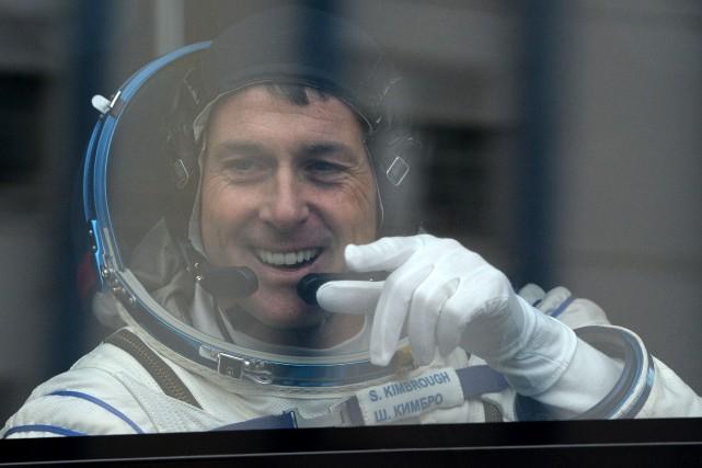 L'astronaute Shane Kimbrough n'a pas indiqué pour qui... (Photo AFP)