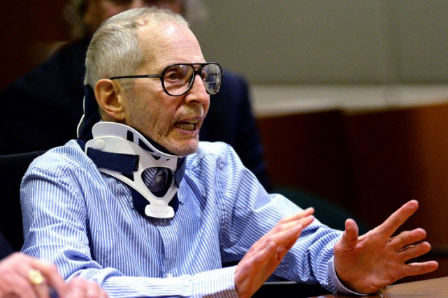 Robert Durst a maintenu son innocence, lundi, après... (PHOTO REUTERS)