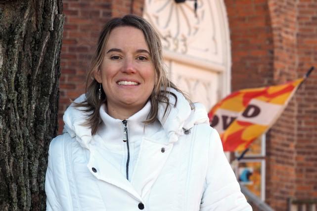 Christine Rossignol, agente de développement culturel à la... (Alain Dion)