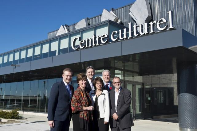 Luc Fortin, ministre de la Culture et des... (Spectre Média, Jessica Garneau)