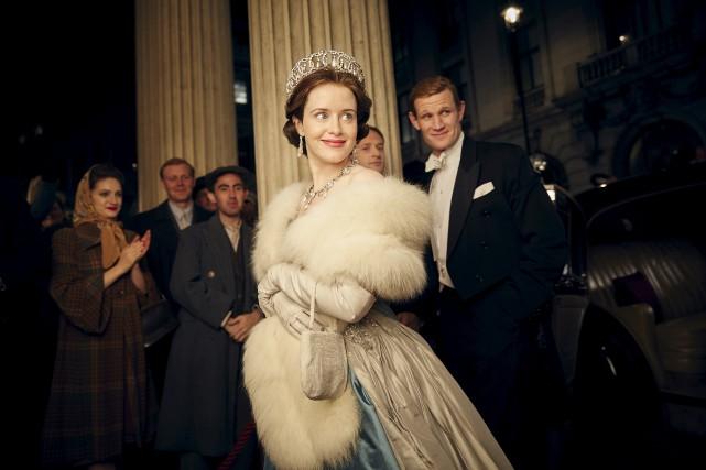 La Britannique Claire Foy incarne la jeuneÉlisabeth II.... (fournie par Netflix)