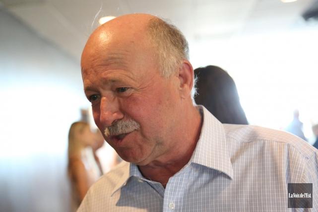 Le député libéral de Brome-Missisquoi, Denis Paradis... (archives La Voix de l'Est)