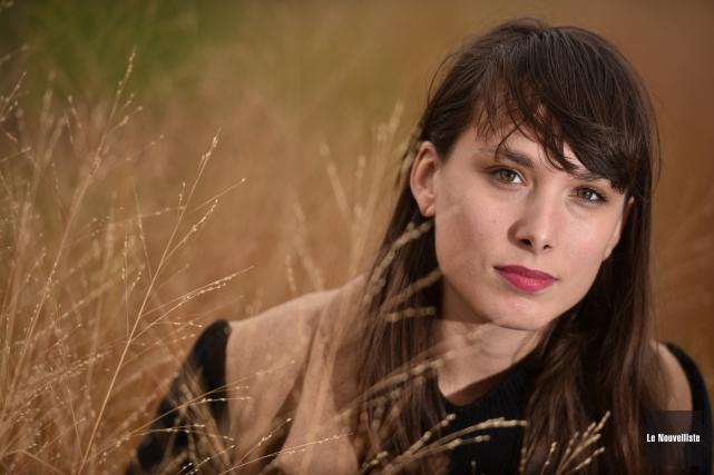 La jeune auteure, compositrice et interprète Rosie Valland... (François Gervais, Le Nouvelliste)