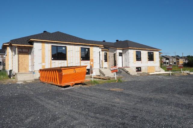 La construction va bon train à Trois-Rivières.... (Archives)