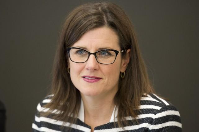 Stéphanie Vallée, ministre de la Justice... (Archives, Le Droit)