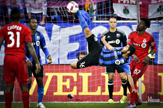 L'Impact affrontera le Toronto FC le 22 novembre... (archives La Presse)