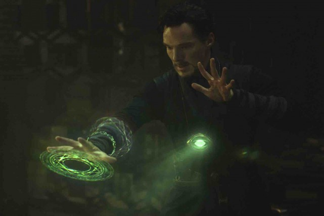 Doctor Strange... (Photo AP)