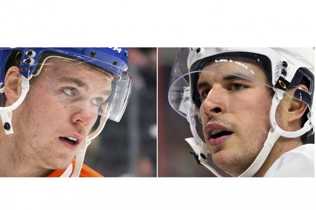 Les comparaisons entre Connor McDavid et Sidney Crosby... (Associated Press)
