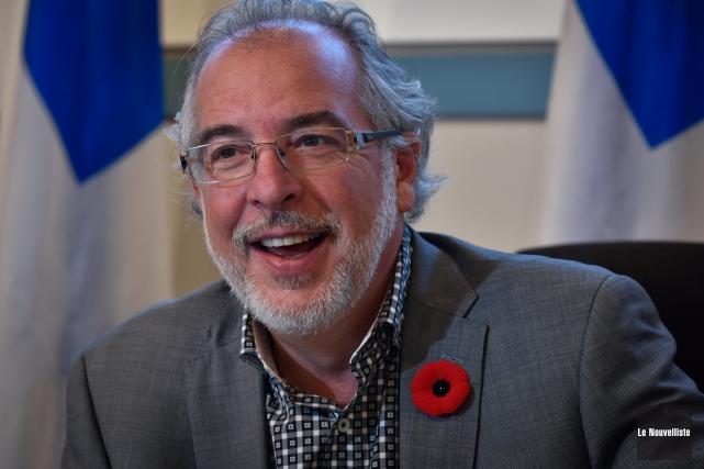 Le chef intérimaire du Bloc québécois, Rhéal Fortin,... (Photo François Gervais, archives Le Nouvelliste)