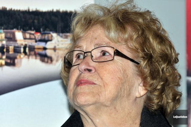 L'ancienne conseillère Marina Larouche... (Archives Le Quotidien, Rocket Lavoie)