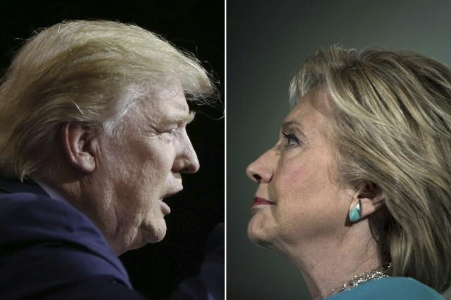 Les Américains choisiront entre Donald Trump et Hillary... (AFP)