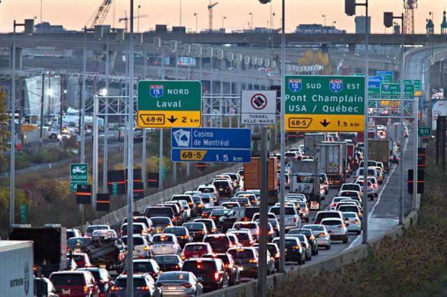 Selon l'étude de la STM, les transports en... (Photo Patrick Sanfaçon, Archives La Presse)