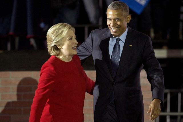 C'est notamment à Philadelphie que la candidate démocrate... (AP, Pablo Martinez Monsivais)