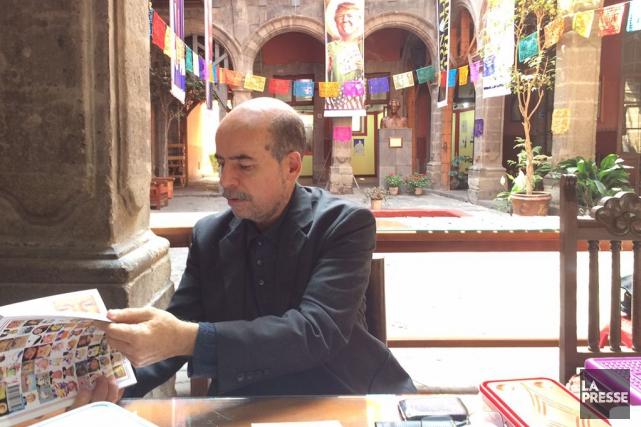 Luis Xavier Saenz De Miera Santana, qui a... (Photo La Presse)