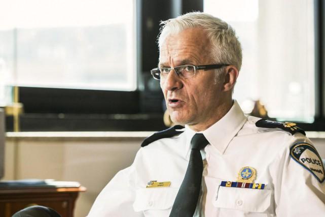L'ancien chef de police Marc Parent assure qu'il... (Photo Hugo-Sébastien Aubert, Archives La Presse)